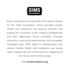 Bryan Anthonys will donate 10% of the sales of Pause to the SIMS Foundation which provide mental health and substance use recovery services and support.