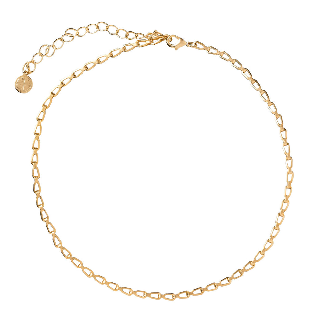 bryan anthonys dainty truly linked chain choker 14k gold