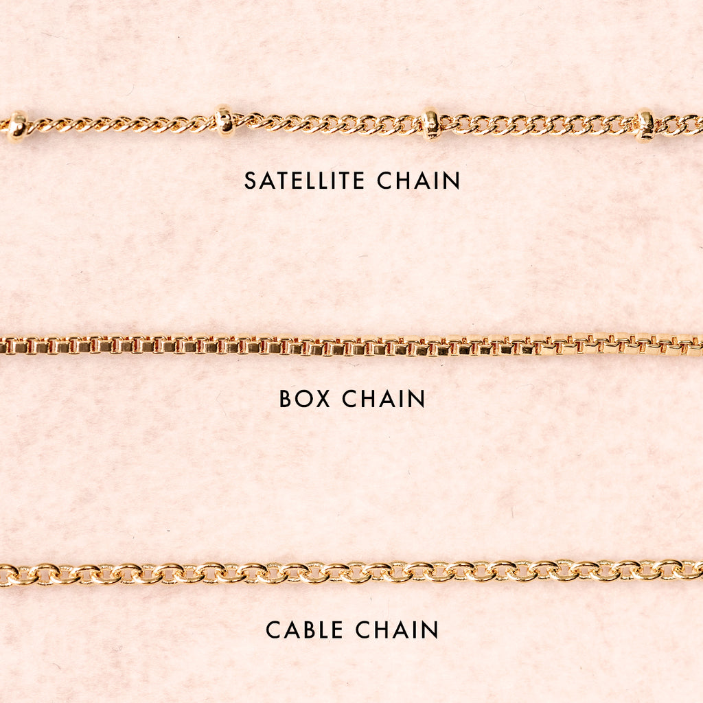 Cable Chain Necklace Base