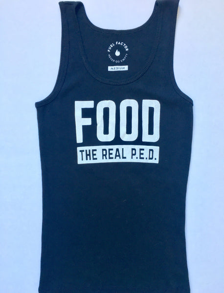 Food. The Real P.E.D. -  Women's Tank