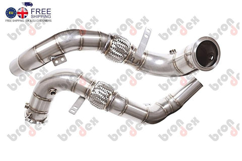 BMW X6M  F86 decat DOWNPIPES brondex exhaust