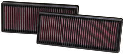 MERCEDES BENZ S63 AMG 5.5L V8 K&N 33-2474 Air Filter