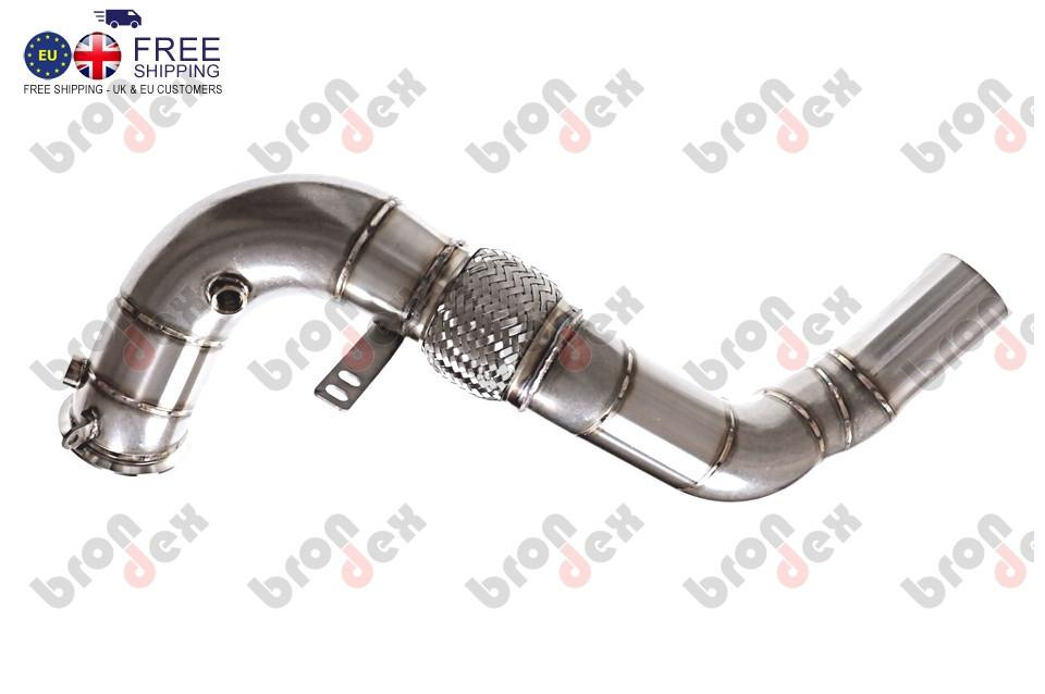 Bmw X6m F86 Decat Downpipes 2014 Ready For Installation
