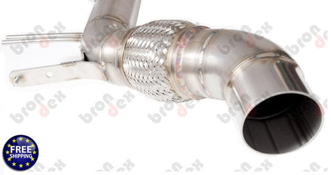 BMW X6 40D F16 DOWNPIPE 2014-