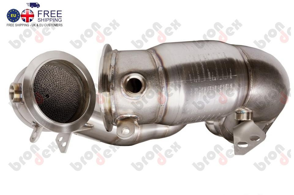 Bmw M6 Downpipes With 200 Cell Catalytic Converter 2013