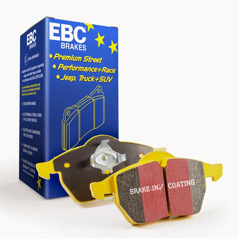 yellowstuff ebc brake pads mercedes c63 w204 amg
