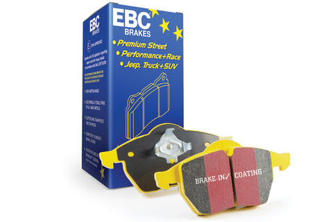 EBC Yellowstuff 4000 Brake Pad Fit to AUDI S8 4.0 Twin Turbo 2011- Rear