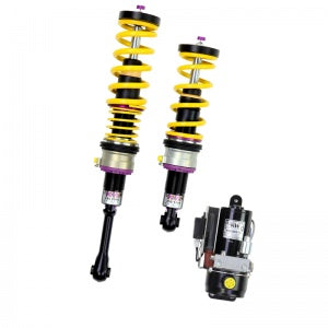 Audi S5 Coupe B8 suspension KW HLS 4 hydraulic lift system with KW Variant 3 inox line suspension kit