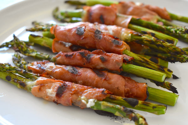 Grilled Prosciutto-Wrapped Asparagus