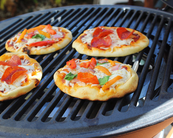 Grilled Personal Pizzas