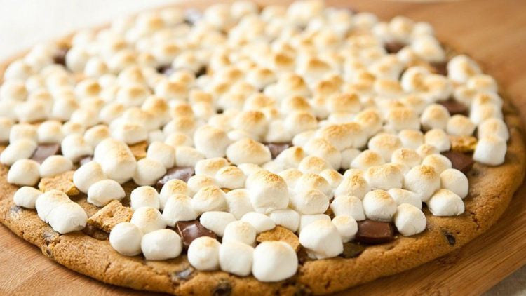 Grilled Smores Pizza? Yes!