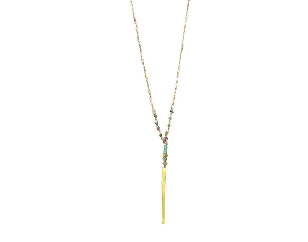 Gold Filled Long Layering Necklace - Anci Decor Jewelry