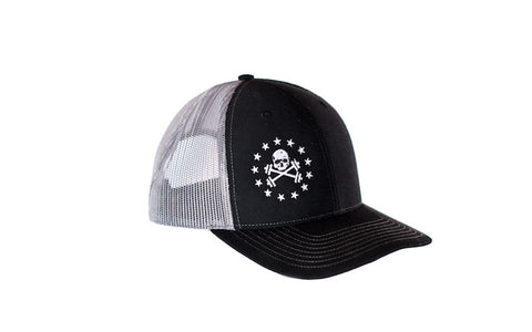 Gary/Black Mesh Trucker Hat