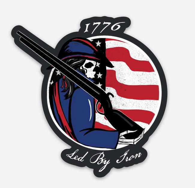 1776 Minutemen Sticker