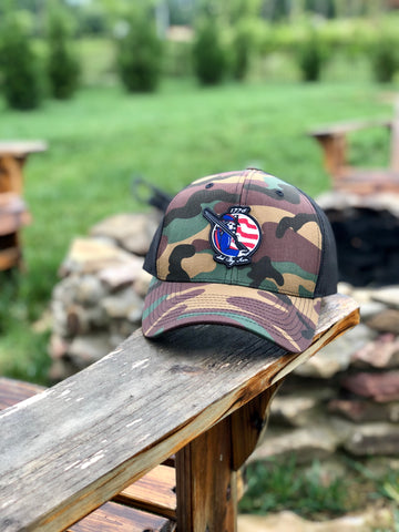 1776 Minutemen truckers hat