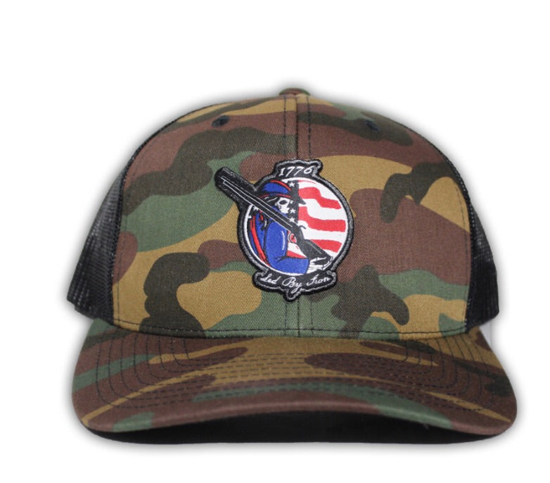 1776 Minutemen snapback trucker hat