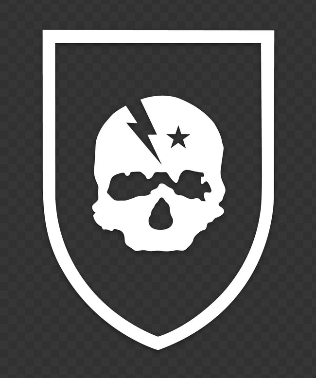 LBI Skull Badge Sticker