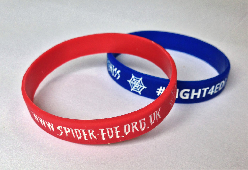 Spider-Ede Appeal Wrist Bands ready to go...