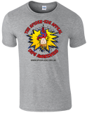 Spider-Ede Appeal T-Shirt in Grey