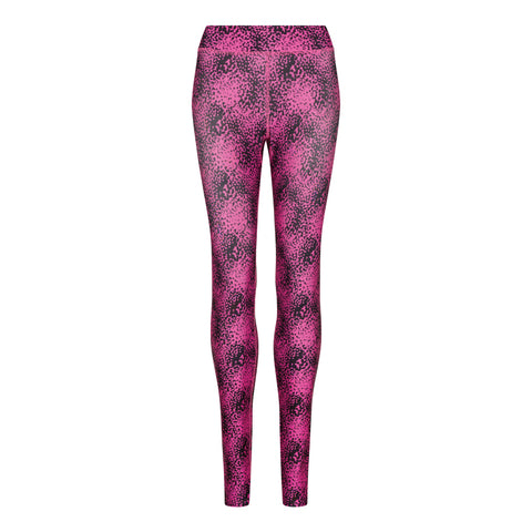 Women's Speckled Pink Printed Leggings