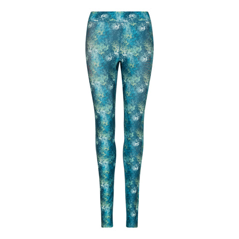 Women's Tropical Reef Printed Leggings