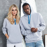 AWD Contrast Two Colour Hoodie in different colour choices