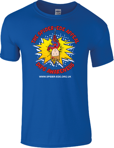 Spider-Ede Appeal T-Shirt in Blue