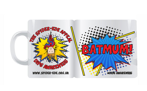 Spider-Ede Appeal Mug with Custom Text Options