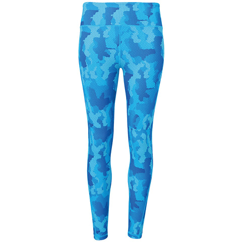 Women's TriDri® Performance Hexoflage™ Leggings in Camo Sapphire
