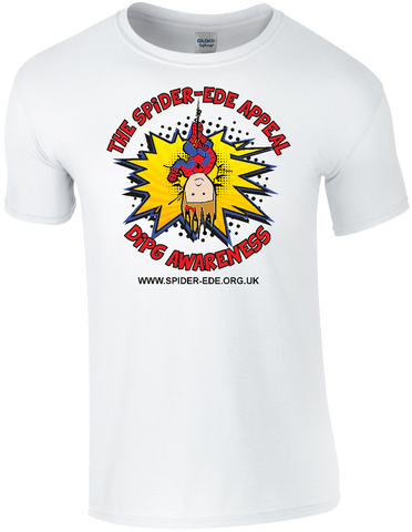 Spider-Ede Appeal T-Shirt in White