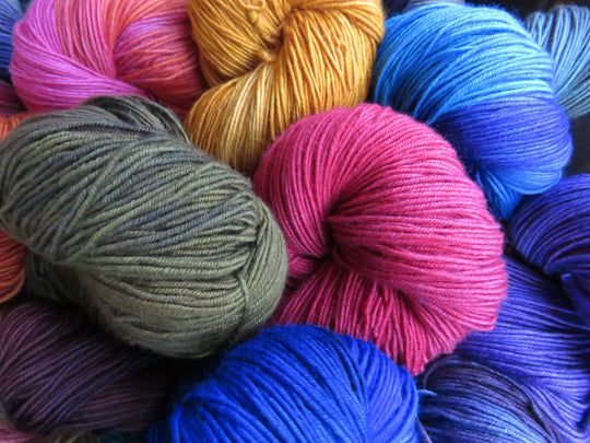Fingering Weight Yarn with Cashmere