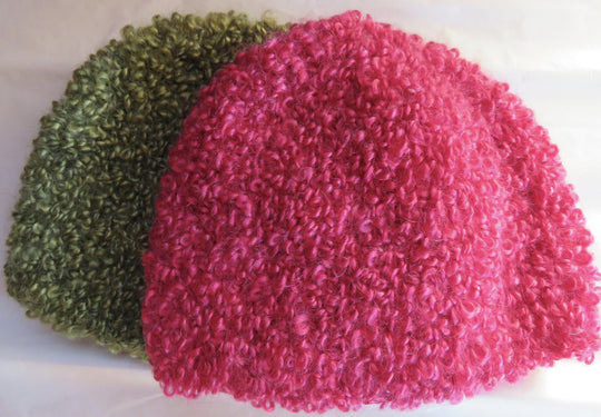Large Boucle Mohair - Bulky Weight