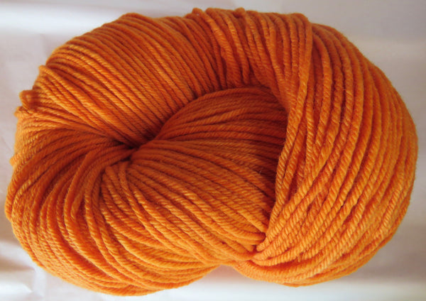 Targhee Wool - BULKY Weight - Orange 2034
