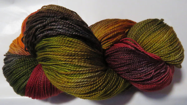 Fine Fingering 2ply Sock - Autumn Earth