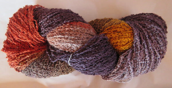 Hand Maiden Rumple - Swiss Mountain Silk - Boucle - Red Fox