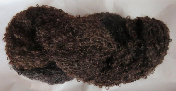 Mohair Loop - Medium Boucle - Brown