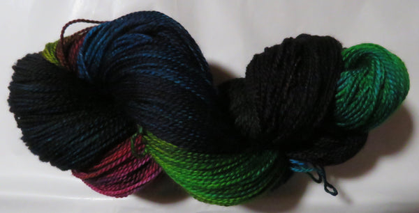 Fine Merino - Fine Sport Weight Yarn -  Marine Rainbow #2