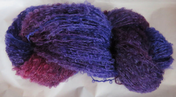 Mohair Loop - Medium Boucle - Berry Fields