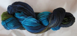 Fine  Merino - Lace Weight Yarn -  Common Grackle