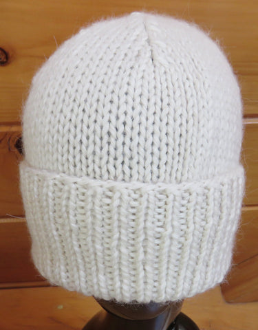 Hat - Fisherman/Woman - Regal Alpaca - Natural (Finished Product)