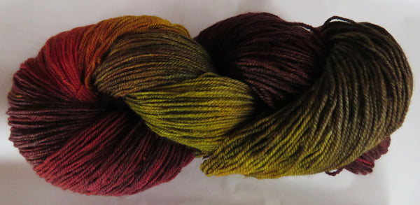 BFL Fingering - Autumn Earth