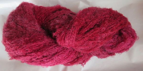 Mohair Loop - Medium Boucle - Berry