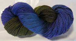 BFL Fingering - Purple Forest