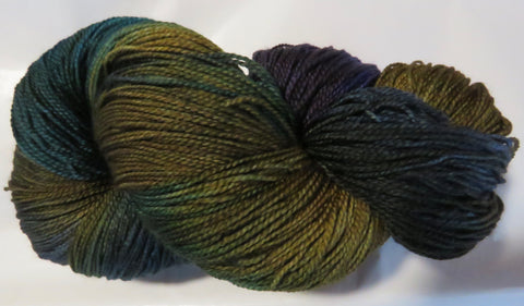 Fine Fingering 2ply Sock - Earth Day