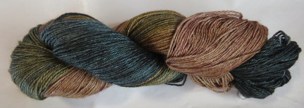 Hand Maiden Camelspin - Swiss Mountain Silk - Sea Oak 20