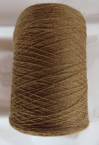 SPECIAL - Fine LACE  - Single Ply WOOL &  MOHAIR - Tan