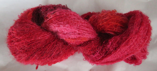 Mohair Loop - Medium Boucle - Sangria