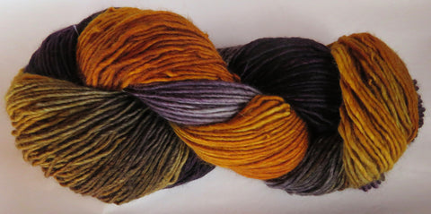 Merino DK Single Ply - Amber/Grey/Aubergine 19Q