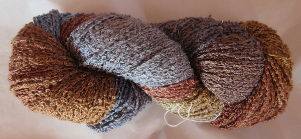 Hand Maiden Rumple - Swiss Mountain Silk - Boucle - Stone
