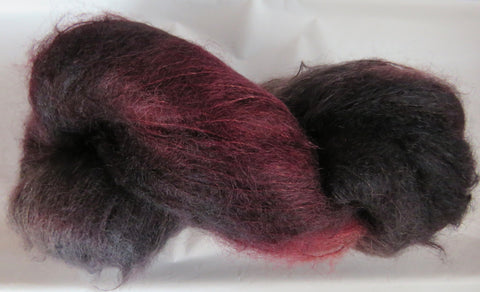 Brushed Kid Mohair - Pine Grosbeak 2030